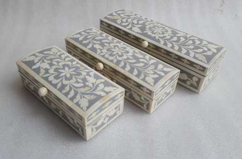Bone inlay long 3 box