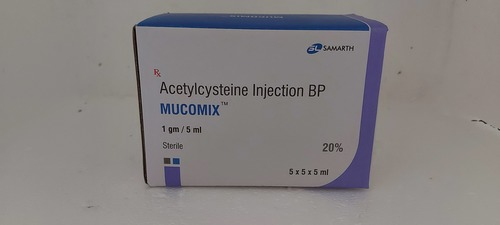 Mucomix - Acetylcysteine Injection Bp 400mg/2ml