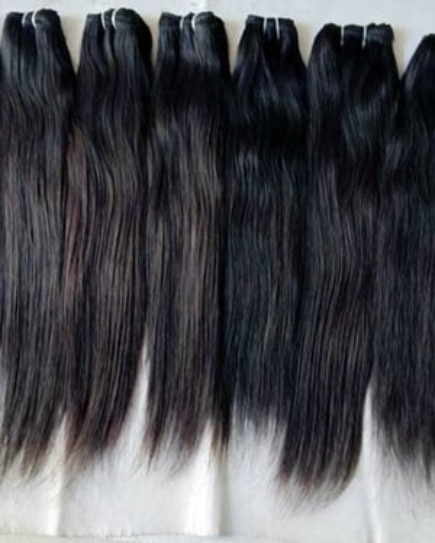 Temple Raw Material Indian Human Hair
