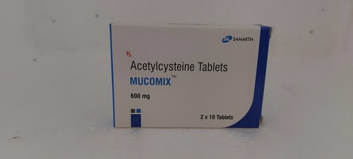 Mucomix - Acetylcysteine Tablets 600mg