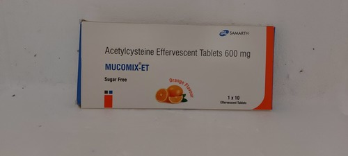 Mucomix-et - Acetylcysteine Effervescent Tablets 600mg