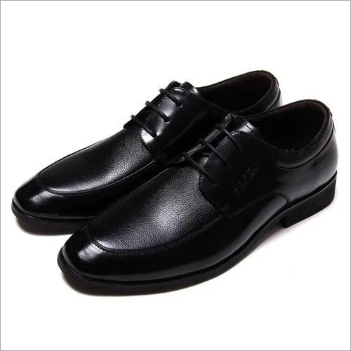Mens Black Leather Formal Shoes