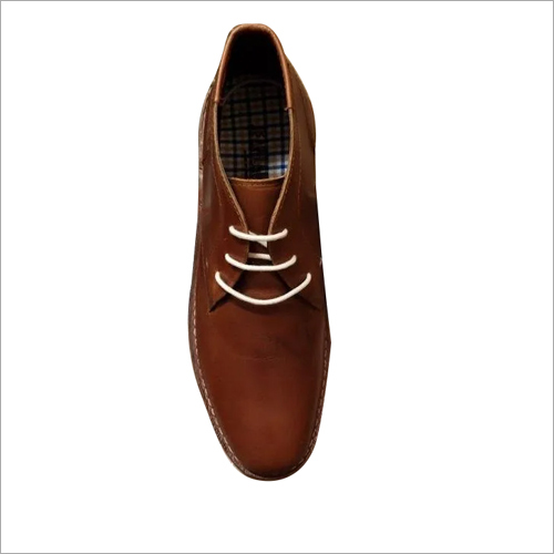 Mens Tan Brown Leather Formal Shoes