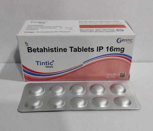Betahistine Tablets 16 Mg