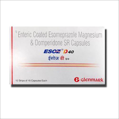 Enteric Coated Esomeprazole Magnesium And Domperidone SR Capsules