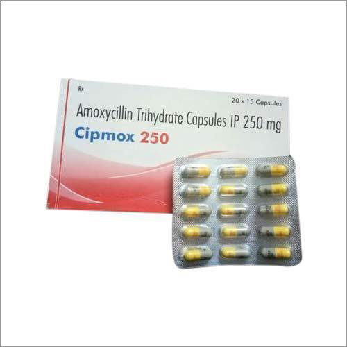 250 Mg Amoxycillin Trihydrate Capsules Ip