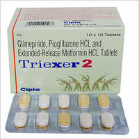 Glimepiride - Pioglitazone HCL and Extended-Release Metformin HCL Tablets
