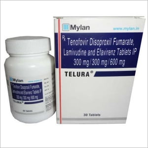 Tenofovir Disoproxil Fumarate  Lamivudine And Efavirenz Tablets Ip