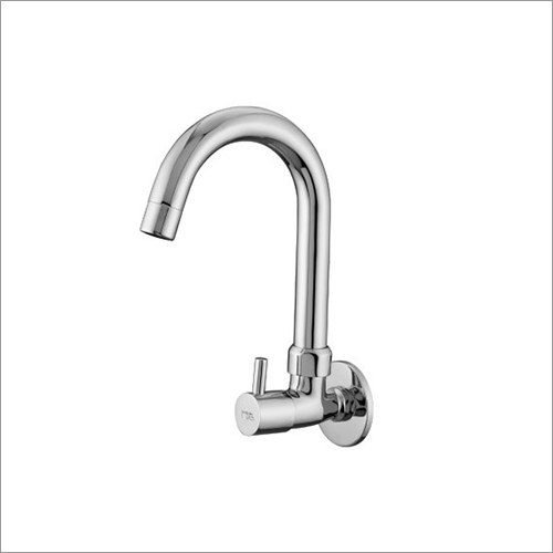 Bib Tap Sink Cock Regular Spout (W-M) With Flange