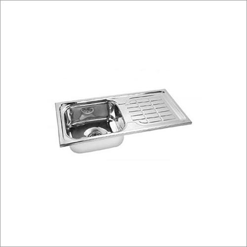 Solo Single Kitchen Sink Bowl With Drain Board