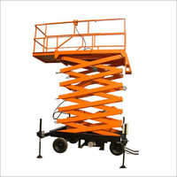 High Rise Scissor Work Platform