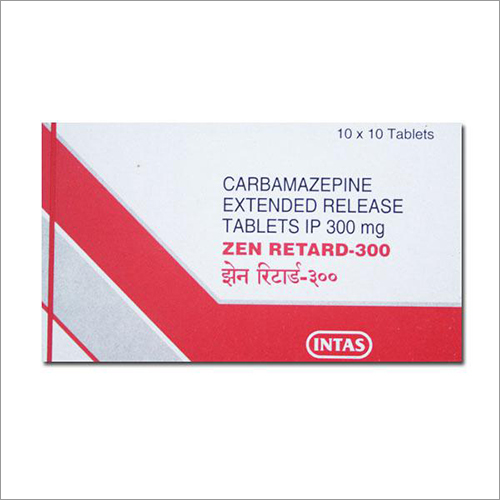 300 mg Carbamazepine Extended Release Tablets