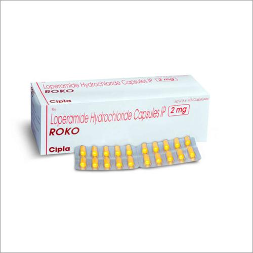 2 mg Loperamide Hydrochloride Capsules IP