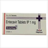 1 mg Entecavir Tablet IP