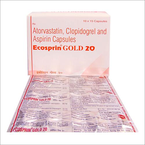Atorvastatin - Clopidogrel and Aspirine Capsule