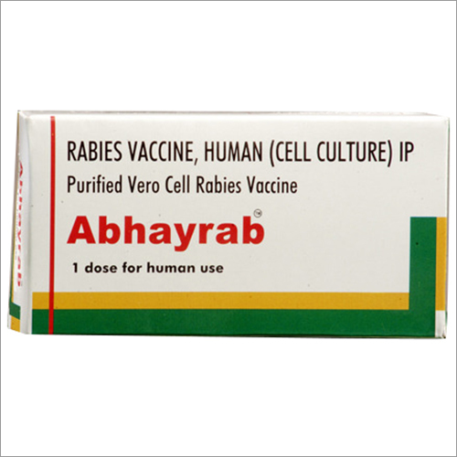 Rabies Vaccine - Human Cell Culture IP