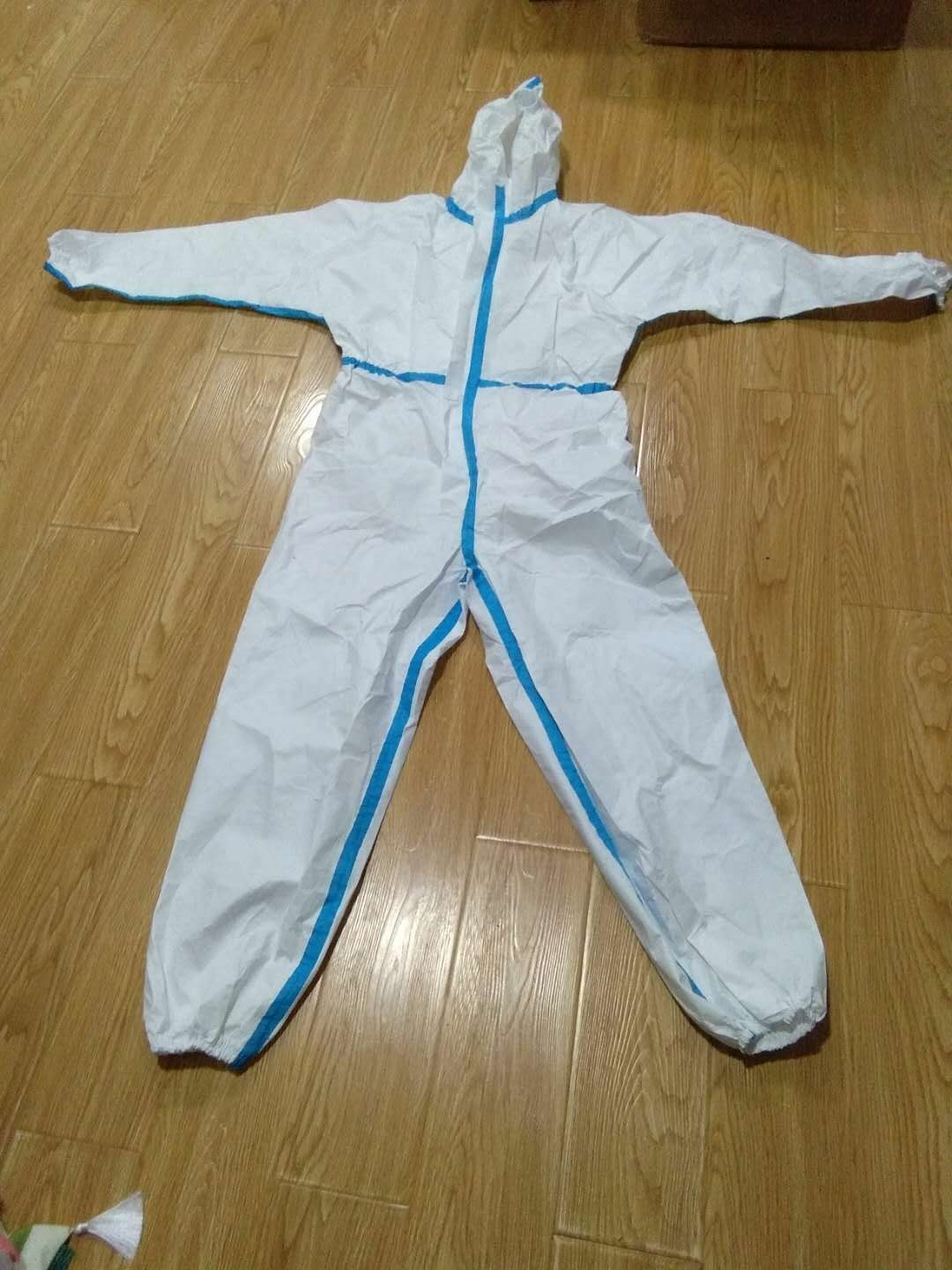 Microporous Film SF Coveralls with Tape