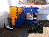 Turning & Sheet Metal Scrap Compactor - Horizontal Scrap Compactor - Ecomax Models