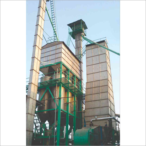 50 TPD 2 Stage Parboil And Dryer Plant