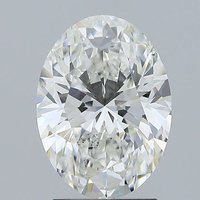 2.02ct Lab Grown Diamond CVD F VS2 Oval Brilliant Cut IGI Crtified