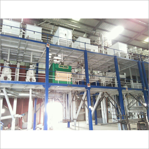 Industrial Rice Mill Unit