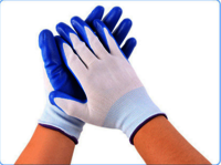 Nynol and Nitrile Latex Glove