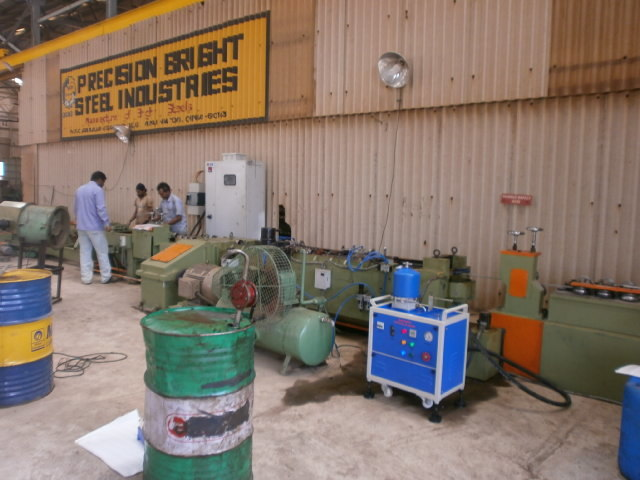 Centrifugal Cleaning System For Bright Bar - Ocs Models