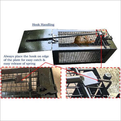 Hook Handling Rat Trap