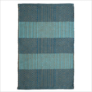 Modern Jute And Cotton Rug