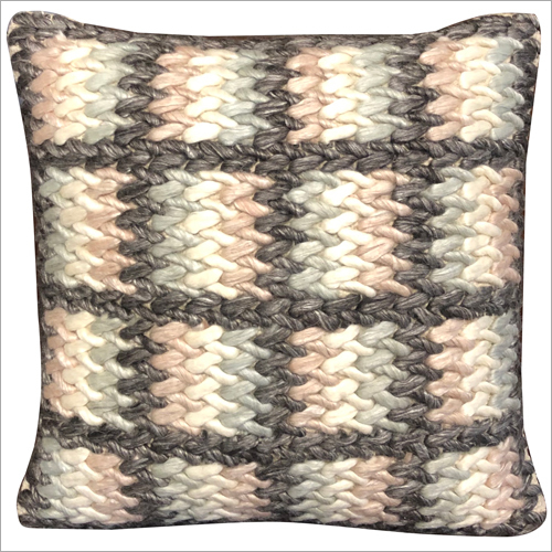 Wool and Polyester Cushion Cover