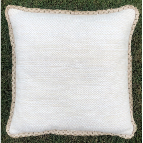 Plain Handwoven Outdoor Polyester Cushion Cover