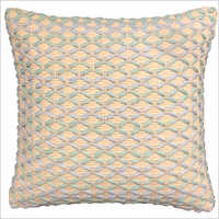 Square  Cotton and Polyester Cushion Cover