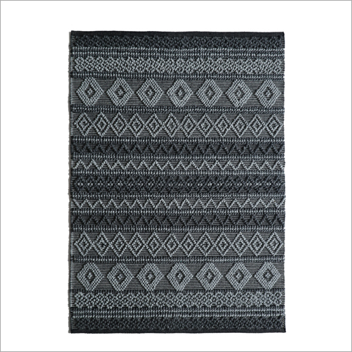 Fancy Wool and Polyester Rug
