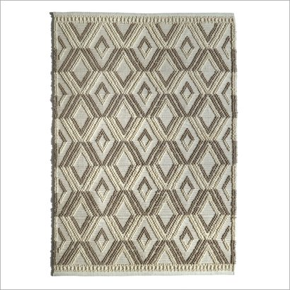 Floor Wool And Polyester Rug