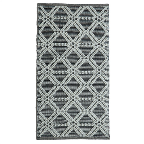 Printed Handwoven Outdoor Polyester Rug