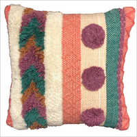 Designer Handwoven Woollen Cushion Cover