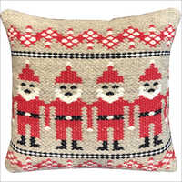 Printed Handwoven Woollen Cushion Cover