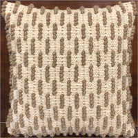 Modern Handwoven Woollen Cushion Cover