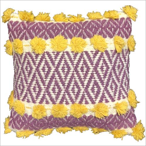 Fancy Handwoven Woollen Cushion Cover