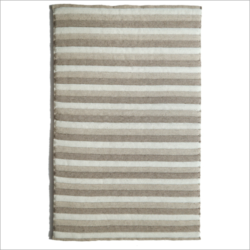 Handwoven Polyester Fibre Filling Woollen Rug