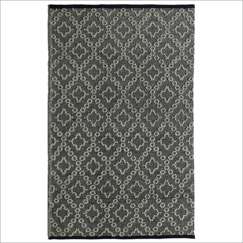 Printed Handwoven Woollen Rug