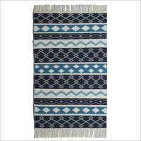 Tassel Handwoven Woollen Rug