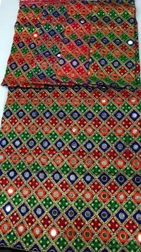 Afghan embroidery dresses fabric