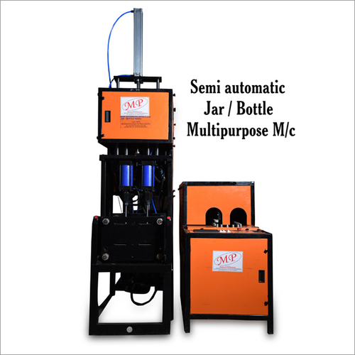 Semi Automatic Jar Cum Bottle Machines