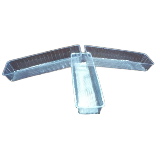 PVC Blister Packing Tray For Large Slice Cake