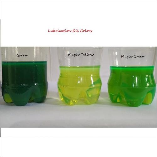 Lubrication Oil Liquid Color