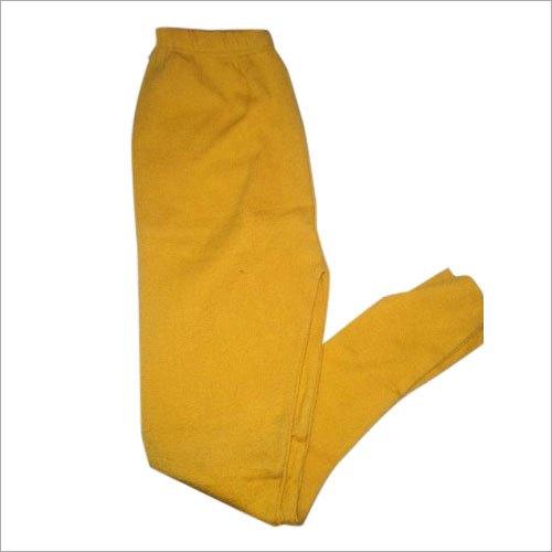 Ladies Yellow Woolen Leggings