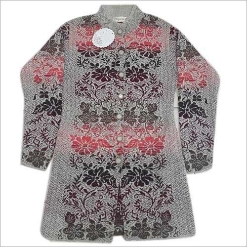 Ladies Designer Woolen Cardigan