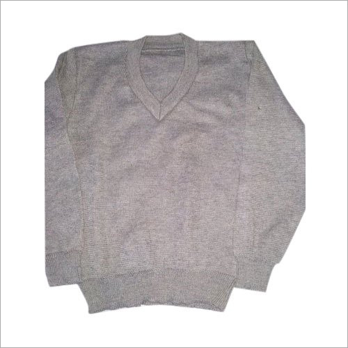 Kids Plain School Sweater