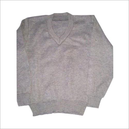 Kids Plain School Sweater